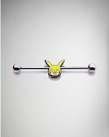 14 Gauge Pikachu Pokemon Industrial Barbell