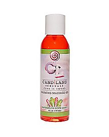 Candiland Warming Watermelon Flavored Massage Lotion -  4 oz.