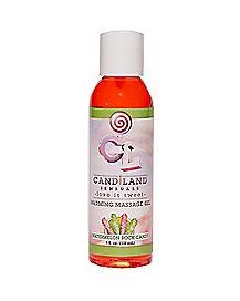 Candiland Warming Watermelon Flavored Massage Gel -  4 oz.