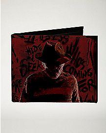 Freddy Bifold Wallet - Nightmare on Elm Street