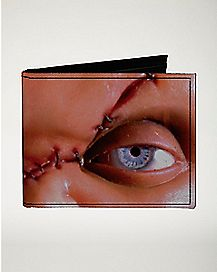 Chucky Cracked Eye Bifold Wallet - Childs Play