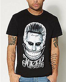 Smile Joker Suicide Squad T Shirt