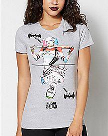 Harley Joker Suicide Squad T shirt