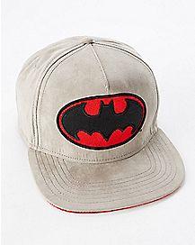 Batman Suede Snapback Hat - DC Comics