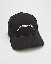 Curved Brim Metallica Dad Hat