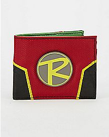 3D Metal Badge Robin Bifold Wallet