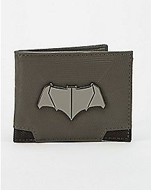 Metal Badge Batman Bifold Wallet - DC Comics