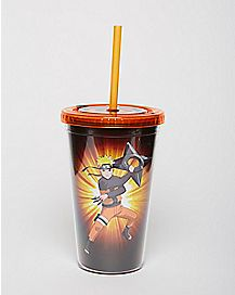 Naruto Cup with Straw