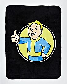 Vault Boy Fallout Fleece Blanket