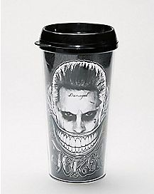Suicide Squad Joker Travel Mug 16 oz. - DC Comics