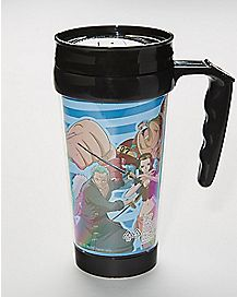 New World Fighting One Piece Travel Mug 15 oz