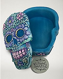 Sugar Skull Storage Box