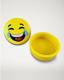 Laughing Smiley Face Storage Box