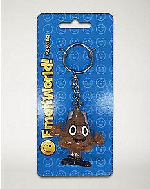 Happy Poop Man Keychain