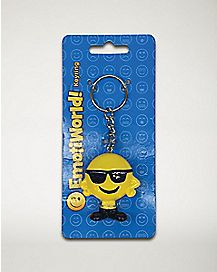 Smiling Cool Man Keychain