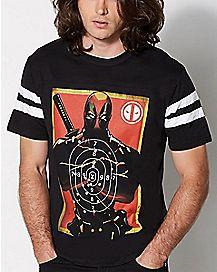 Target Deadpool Marvel Hockey T Shirt