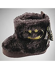 Batman Faux Fur Baby Boot - DC Comics