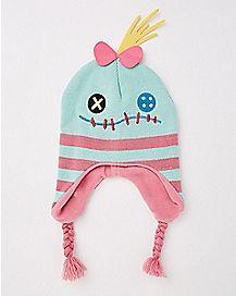 Lilo & Stitch Scrump Face Laplander Baby  Hat