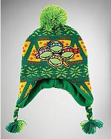 TMNT Fair Isle Laplander Hat