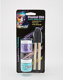 Teal Purple Pastel Body Paint 2 Pack