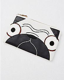 3D Pug Clutch Wallet