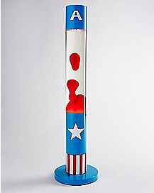 Captain America Motion Lamp