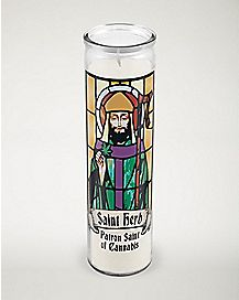 Saint of Cannabis Saint Herb Prayer Candle