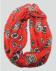 Dragon Ball Z Red Scarf