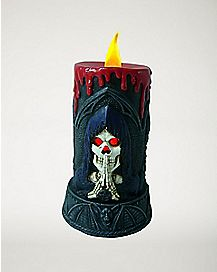 Grim Reaper LED Candle