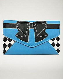 Alice In Wonderland Envelope Wallet
