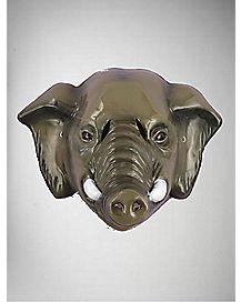 Plastic Elephant Mask