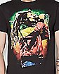 Microphone Painting Bob Marley T shirt