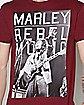Rebel Bob Marley T shirt
