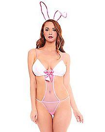 Sexy Bunny Teddy Set