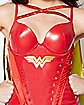 Studded Caped Wonder Woman Corset -  DC Comics