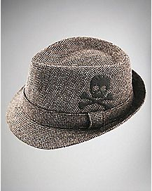 Skull & Cross Bone Fedora Baby Hat