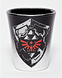 Shadow Link Shot Glass 1.5 oz  - The Legend Of Zelda