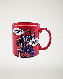 It's Personal Deadpool Marvel Mug 20 oz
