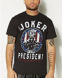 Joker For President T shirt