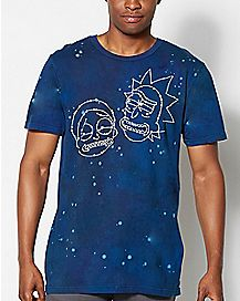 Tye Dye Rick And Morty T shirt