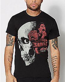 Skull Evil Dead 2 T shirt