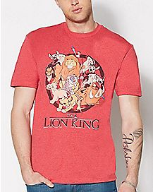 Group Lion King Disney T shirt