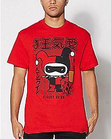 Japanese Harley Quinn T shirt
