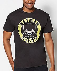 Japanese Batman DC Comics T Shirt