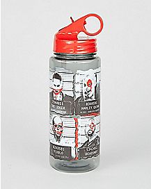 Mugshot Suicide Squad Water Bottle