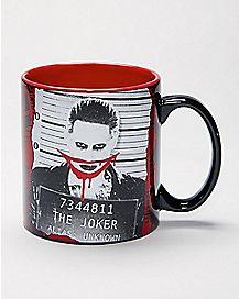 Mugshot Joker Suicide Squad Mug - 20 oz