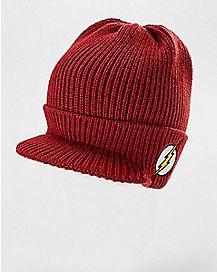 The Flash Visor Beanie Hat