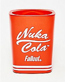 Square Nuka Cola Fallout Shot Glass 1.5 oz