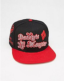 Daddys Lil Monster Suicide Squad Snapback Hat