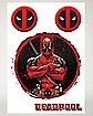 Deadpool Car Decals - Marvel Comics